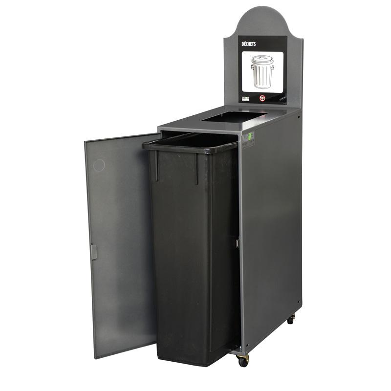 station de d chets ou de recyclage 1 voie modulo nova. Black Bedroom Furniture Sets. Home Design Ideas