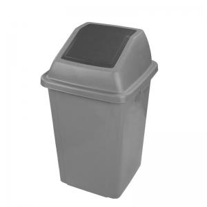 Corbeille poubelle recycling waste bin Nova Mobilier DP07313 gry