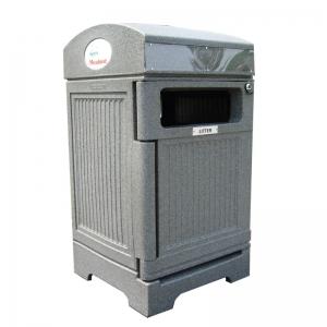 Station recyclage poubelle receptacle container bin phoenix nova mobilier 2 web