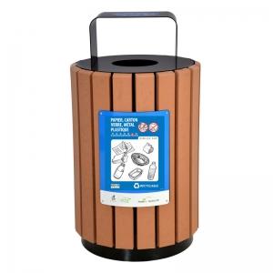 Poubelle urbaine panier a rebut urbain bin receptacle container city r 3 nova mobilier web