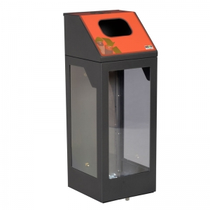 Nova Mobilier collecteur piles battery bin collector CP30LM 1