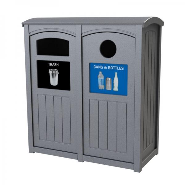 Station de recyclage robuste Excel Dome Top®