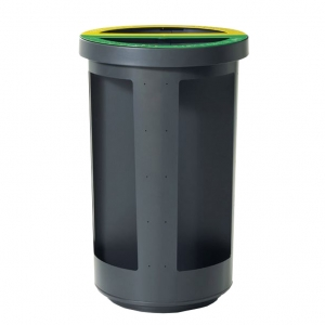 DUO-BIN 2 streams of 60 liters each, with Security option, # M34-67629